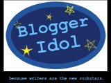 Blogger Idol  at home guest interview challenge.  And the winner is……