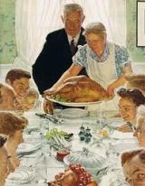 Were you truly thankful? Or were you just there for the food?