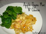 Apple Thyme Mac N Cheese..by my first Badass Guest Blogger!