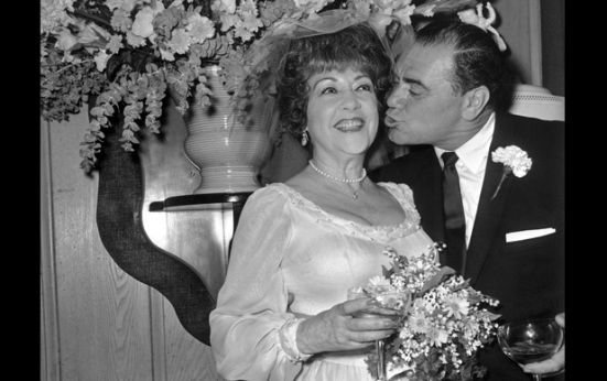 Ethel Merman Marries Ernest Borgnine